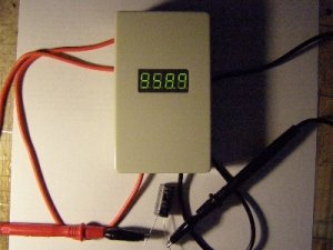 Тестер ёмкости и ЭПС конденсаторов без выпаивания из устройства