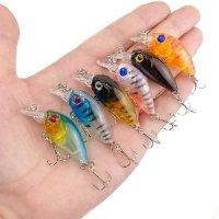 Воблер Minnow Fishing рыболовная приманка 45 мм цвета разные