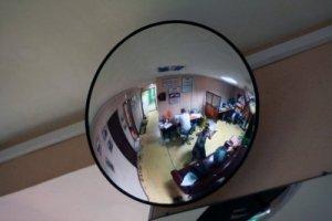 Зеркало внутренние Megaplast K700 мм. для наблюдения в помещении.