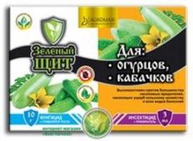 Зеленый щит 12 мл + 3 мл для огурцов Агромакси