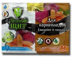 Зеленый щит для корнеплодов 3мл + 10г Агромакси