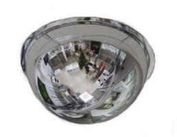 Зеркало купольное Megaplast 800x360 для кругового наблюдения.