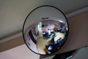 Зеркало внутренние Megaplast K500 мм. для наблюдения в помещении.